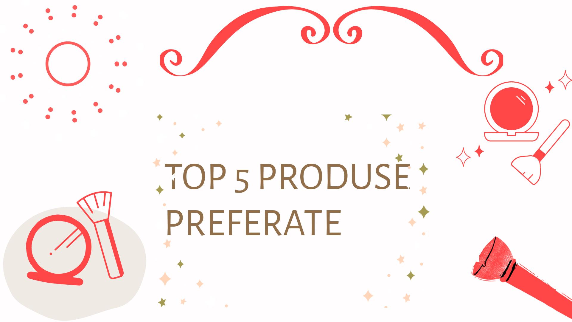 Top 5 produse preferate – pudră de contur/bronzer